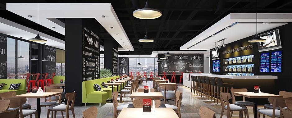 Nội thất quán cà phê - thiết kế nội thất quán cà phê